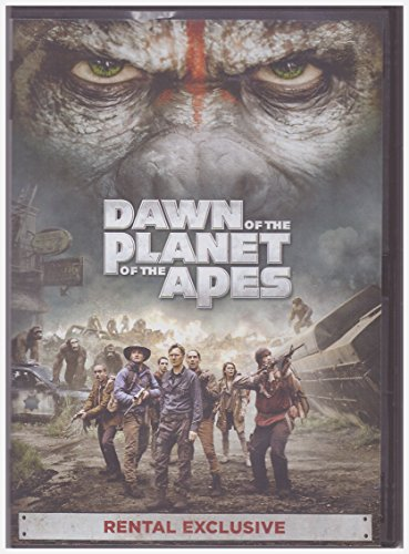 Dawn of the Planet of the Apes (Dvd,2014) Rental Exclusive DVD Image