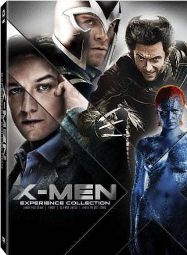X-Men: Experience Collection (X-Men / X2: X-Men United / X-Men: The Last Stand / X-Men: First Class) DVD Image