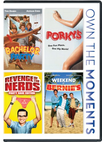Bachelor Party/Porky's/Revenge Of The Nerds/Weekend At Bernie's DVD Image