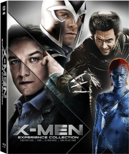 X-Men: Experience Collection (X-Men / X2: X-Men United / X-Men: The Last Stand / X-Men: First Class) [Blu-ray] DVD Image