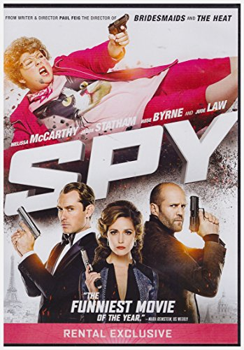 SPY DVD RENTAL EXCLUSIVE DVD Image