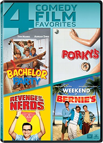 Bachelor Party / Porky's / Revenge of the Nerds / Weekend at Bernie's Quadruple Feature DVD Image