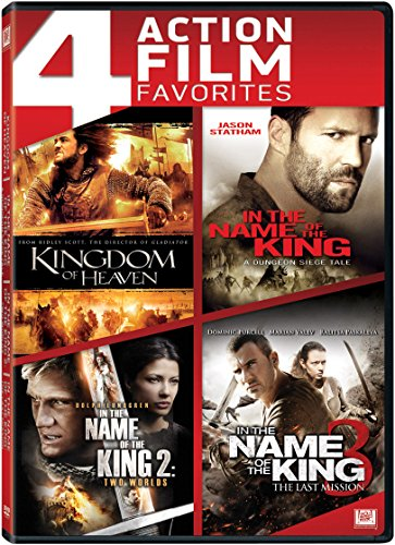 Kingdom of Heaven / In the Name of the King / In the Name of the King 2 / In the Name of the King 3 Quad Feature DVD Image