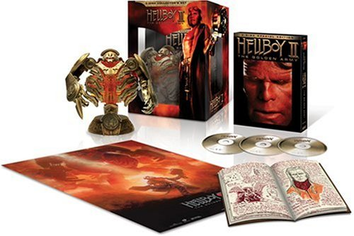 Hellboy II: The Golden Army (Widescreen/ Collector's Set/ 3-Disc w/ Digital Copy/ Limited Golden Army Statue) DVD Image