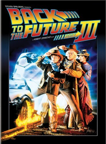 Back to the Future Part III - Summer Comedy Movie Cash DVD Image