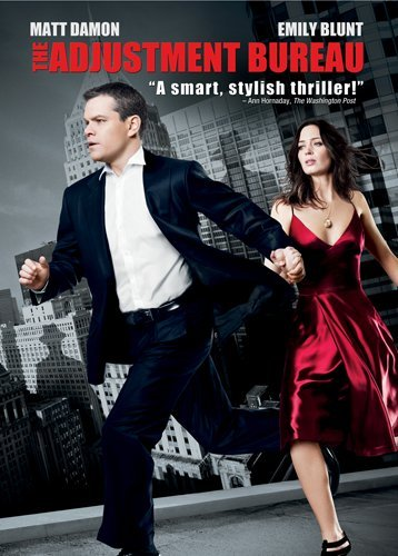 The Adjustment Bureau DVD Image