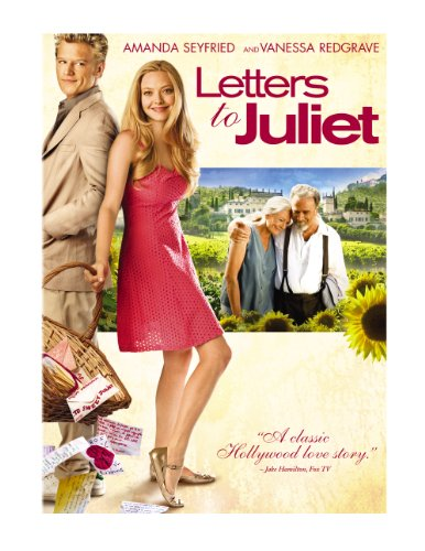 Letters to Juliet DVD Image