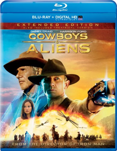 Cowboys & Aliens - Extended Edition (Blu-ray + DIGITAL HD with UltraViolet) DVD Image