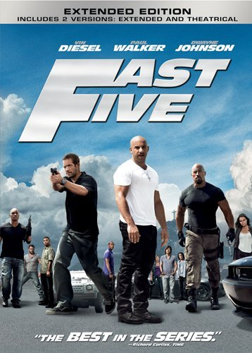 Fast Five DVD Image
