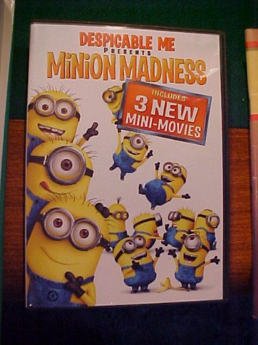 Despicable Me Presents Minion Madness DVD Image