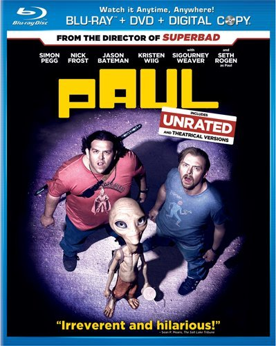 Paul (Two-Disc Blu-ray/DVD Combo + Digital Copy) DVD Image