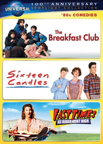 '80s Comedies Spotlight Collection [The Breakfast Club, Sixteen Candles, Fast Times at Ridgemont High] (Universal's 100th Anniversary) DVD Image