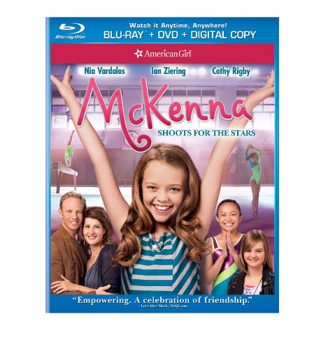 An American Girl: McKenna Shoots for the Stars (Blu-ray + DVD + Digital Copy + UltraViolet) DVD Image