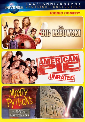 Iconic Comedy Spotlight Collection (The Big Lebowski / American Pie / Monty Python's The Meaning of Life) DVD Image