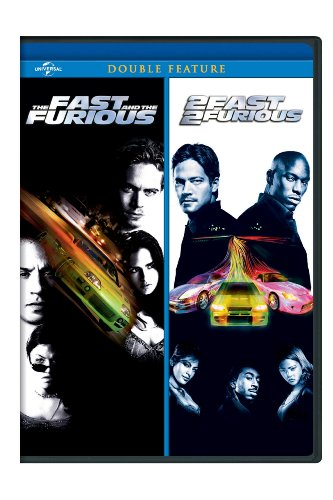 The Fast and the Furious / 2 Fast 2 Furious Double Feature DVD Image