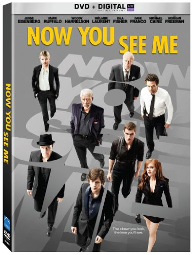 Now You See Me DVD Image