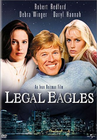 Legal Eagles (Universal) DVD Image