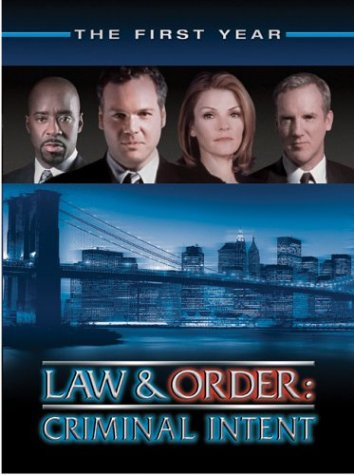 Law & Order Criminal Intent - The First Year DVD Image