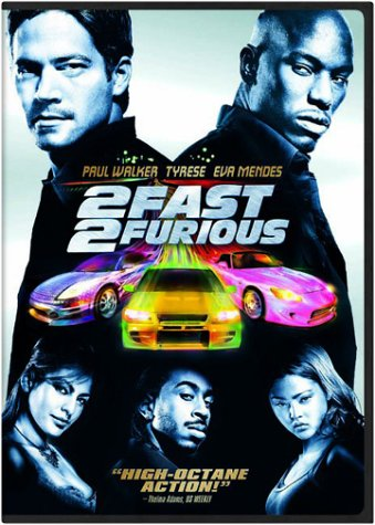 2 Fast 2 Furious (Wirdscreen) DVD Image