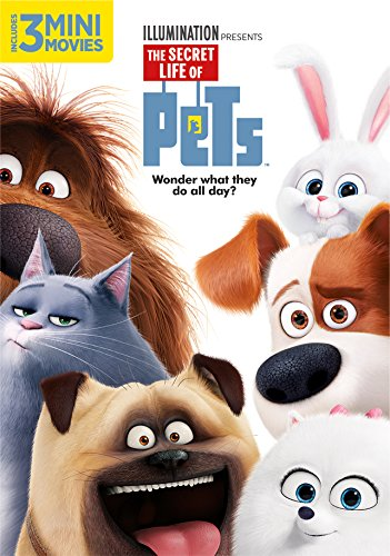 The Secret Life of Pets DVD Image