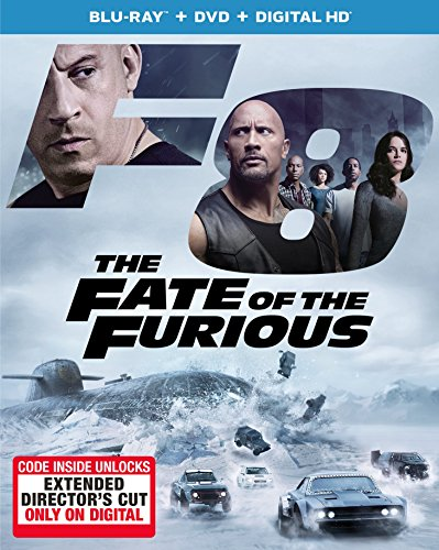 The Fate of the Furious [Blu-ray] DVD Image