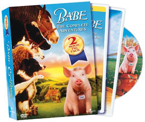 Babe: The Complete Adventures: 2 Movie Pig Pack (Widescreen) DVD Image
