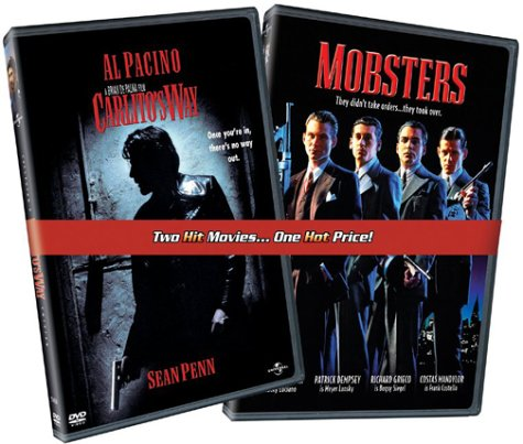 Mobsters / Carlito's Way DVD Image