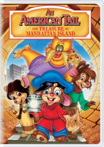 An American Tail - The Treasure of Manhattan Island DVD Image