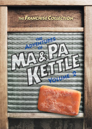 The Adventures of Ma & Pa Kettle, Vol. 2 (At the Fair / On Vacation / At Home / At Waikiki) DVD Image