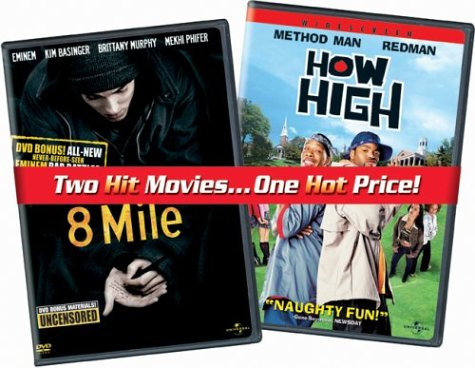8 Mile/How High (with Uncensored Bonus Features) DVD Image