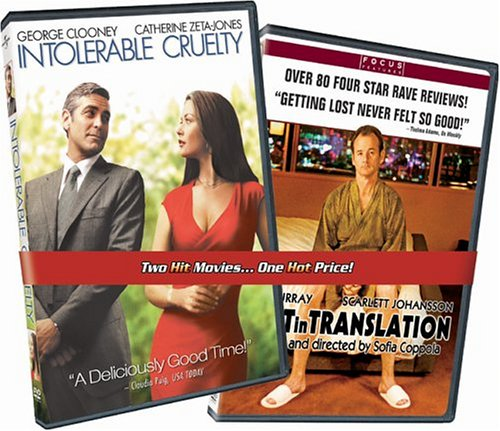 Intolerable Cruelty (Widescreen) / Lost In Translation (Widescreen) (Back-To-Back) DVD Image