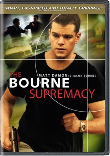 Bourne Supremacy (Widescreen) DVD Image