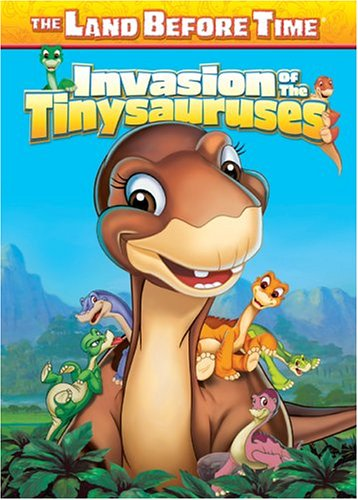 The Land Before Time XI - The Invasion of the Tinysauruses DVD Image