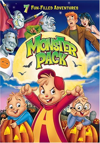 Monster Bash Fun Pack: Alvin And The Chipmunks Meet Frankenstein / Alvin And The Chipmunks Meet The Wolfman / Monster Mash / ... DVD Image