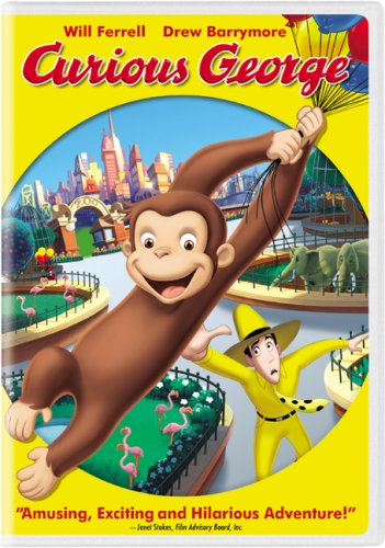 Curious George (2006/ Widescreen) DVD Image