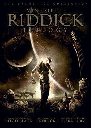 Riddick Trilogy: The Chronicles Of Riddick: Pitch Black / The Chronicles Of Riddick: Dark Fury / The Chronicles Of Riddick DVD Image