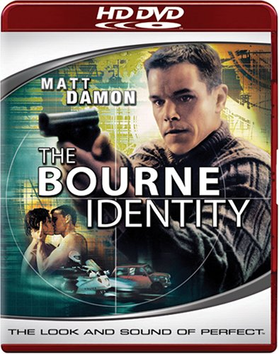 Bourne Identity (2002/ Widescreen/ HD-DVD) DVD Image