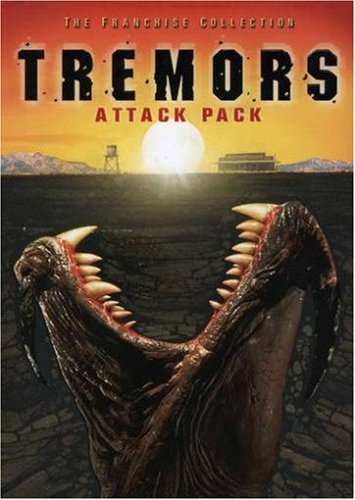 Tremors Attack Pack: Tremors / Tremors 2: Aftershocks / Tremors 3: Back To Perfection / Tremors 4: The Legend Begins DVD Image