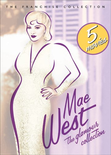 Mae West - The Glamour Collection (Go West Young Man/ Goin' To Town/ I'm No Angel/ My Little Chickadee/ Night After Night) DVD Image