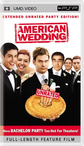American Wedding (Unrated Version/ UMD) DVD Image