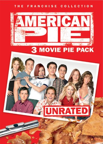 American Pie / American Pie 2 / American Wedding (Unrated Version/ Special Edition/ Widescreen/ Box Set) DVD Image