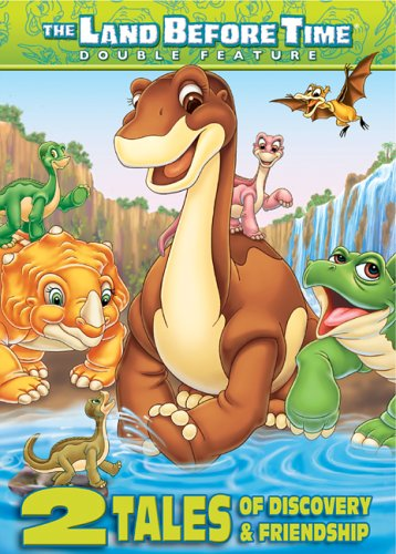 Land Before Time (10) X & (11) XI: 2 Tales Of Discovery And Friendship: The Great Longneck Migration / Invasion Of The Tinysaur DVD Image