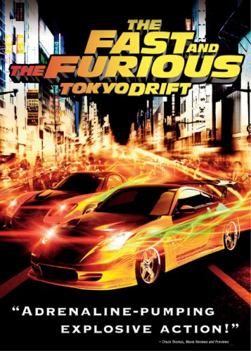 Fast And The Furious: Tokyo Drift (Widescreen) DVD Image