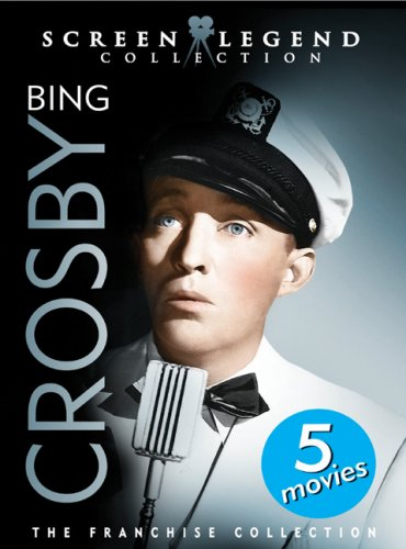 Bing Crosby: Screen Legend Collection: Waikiki Wedding / Double Or Nothing / East Side Of Heaven / If I Had My Way / ... DVD Image