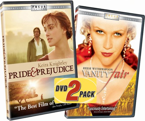Pride & Prejudice (2005/ Widescreen) / Vanity Fair (2004/ Special Edition/ Widescreen) (Side-By-Side) DVD Image