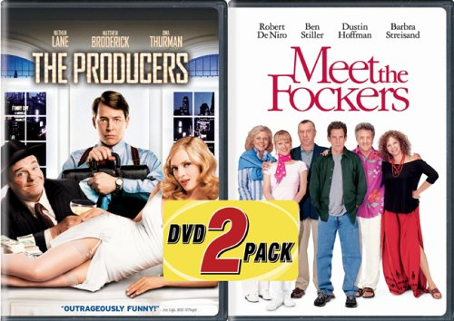 The Producers/Meet the Fockers DVD Image