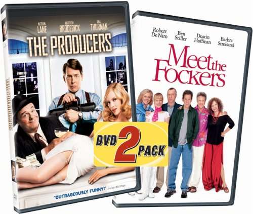Producers (2005/ Widescreen) / Meet The Fockers (Special Edition/ Widescreen) (Side-By-Side) DVD Image