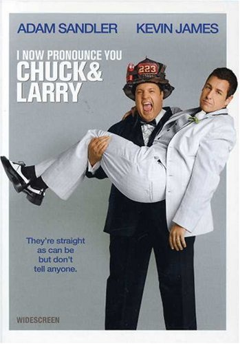 I Now Pronounce You Chuck And Larry (Widescreen) DVD Image
