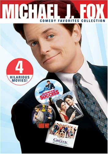 Michael J. Fox Comedy Favorites Collection DVD Image