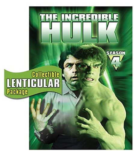 The Incredible Hulk - The Complete Fourth Season DVD Image